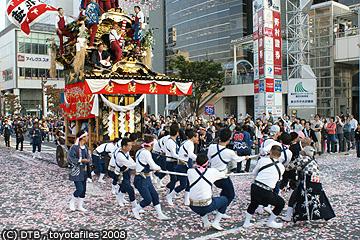 平成20年 挙母祭り 五町曳き