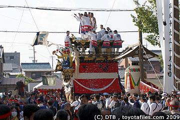 平成21年挙母祭り曳き込み神明町