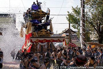 平成21年挙母祭り曳き込み